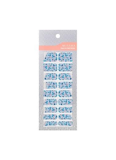 Missha Glam Art Nail Sticker (Beauty Prism) Renkli